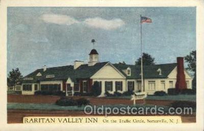 MTL001204 - Raritan Valley Inn, Somerville, New Jersey, USA Motel Hotel Postcard Postcards