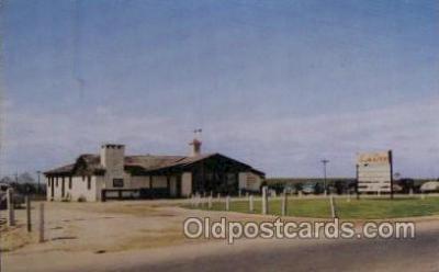 MTL001232 - The ranch, Montgomery, Alabama USA Motel Hotel Postcard Postcards
