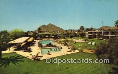 MTL001274 - Executive House Arizonian, Scottsdale, AZ, USA Motel Hotel Postcard Post Card Old Vintage Antique