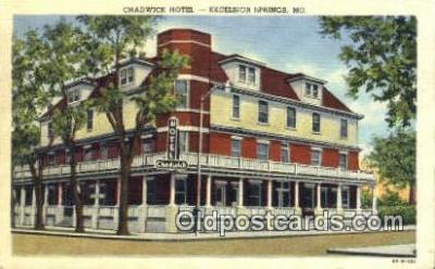 Chadwick Hotel, Excelsior Springs, MO, USA