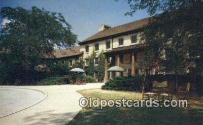 MTL001331 - Spring Mill Inn, Mitchell, IN, USA Motel Hotel Postcard Post Card Old Vintage Antique