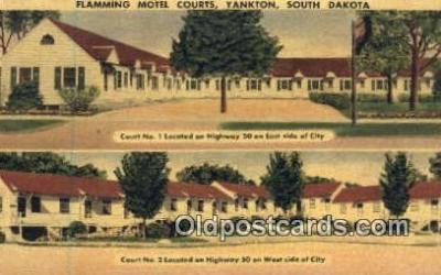 Flamming Motel Courts, Yankton, SD, USA