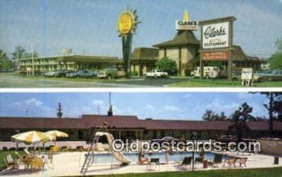 MTL001365 - Quality Inn Clark's & Restaurant, Santee, SC, USA Motel Hotel Postcard Post Card Old Vintage Antique