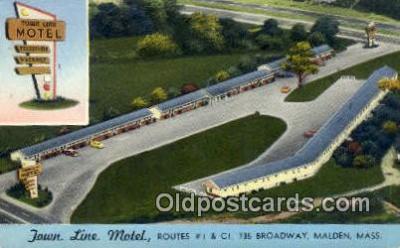 Town Line Motel, Malden, MA, USA