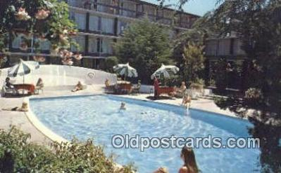 MTL001387 - Holiday Inn, Carmel, CA, USA Motel Hotel Postcard Post Card Old Vintage Antique