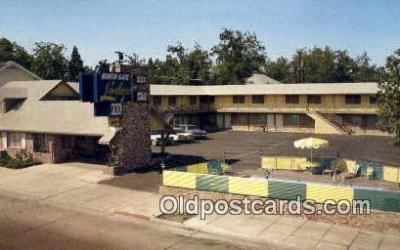 MTL001412 - North Gate Lodge, Redding, CA, USA Motel Hotel Postcard Post Card Old Vintage Antique