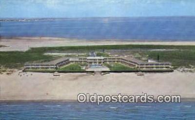 MTL001424 - Sea Island Resort Hotel, South Padre Island, TX, USA Motel Hotel Postcard Post Card Old Vintage Antique