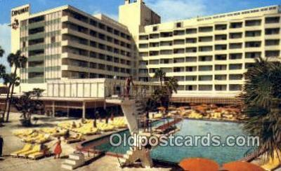 MTL001438 - Diplomat, Hollywood by the Sea, FL, USA Motel Hotel Postcard Post Card Old Vintage Antique