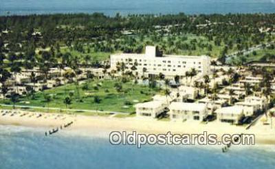 MTL001460 - Key Biscayne Hotel & Villas, Miami, FL, USA Motel Hotel Postcard Post Card Old Vintage Antique