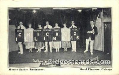 MTL001508 - Hotel Planters, Chicago, IL, USA Motel Hotel Postcard Post Card Old Vintage Antique
