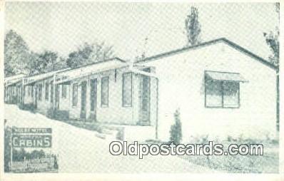 MTL001527 - Kolb's Motel, Jefferson City, MO, USA Motel Hotel Postcard Post Card Old Vintage Antique