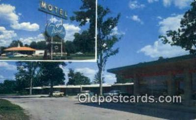 MTL001529 - Travelier Motel, Columbia, MO, USA Motel Hotel Postcard Post Card Old Vintage Antique