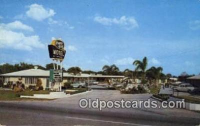 MTL001555 - Orange Acres Motel, Winter Haven, FL, USA Motel Hotel Postcard Post Card Old Vintage Antique