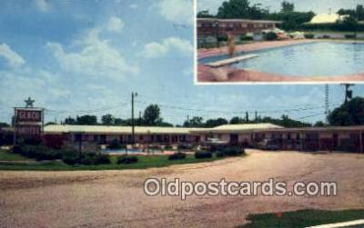 MTL001560 - Glaco Motel, Hayti, MO, USA Motel Hotel Postcard Post Card Old Vintage Antique