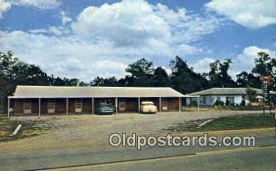 MTL001563 - Veltrop's Motel, Jefferson City, MO, USA Motel Hotel Postcard Post Card Old Vintage Antique