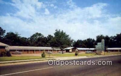 MTL001573 - Bainbridge Motel, Bainbridge, GA, USA Motel Hotel Postcard Post Card Old Vintage Antique