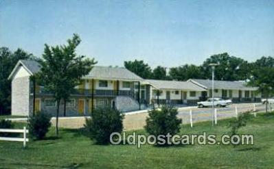 MTL001579 - Motel Eastwood, Columbia MO, USA Motel Hotel Postcard Post Card Old Vintage Antique