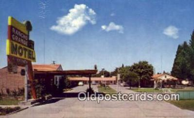 MTL001580 - Rancho Grande Motel, USA Motel Hotel Postcard Post Card Old Vintage Antique
