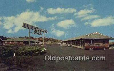 MTL001590 - Veit's Village Motel, Jefferson City, MO, USA Motel Hotel Postcard Post Card Old Vintage Antique