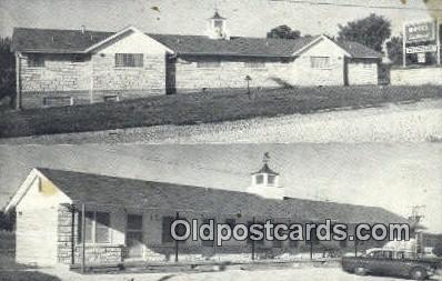 MTL001598 - Motel Eastwood, Columbia MO, USA Motel Hotel Postcard Post Card Old Vintage Antique