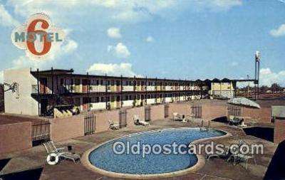 MTL001607 - Motel 6, Winslow, AZ, USA Motel Hotel Postcard Post Card Old Vintage Antique