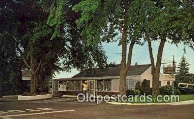 MTL001615 - Bob Briggs' Wee Packet, Dennisport, Cape Cod Motel Hotel Postcard Post Card Old Vintage Antique
