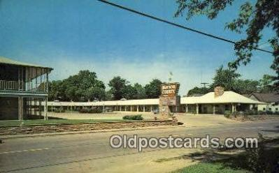 MTL001632 - Marion Courts, Marion, IL, USA Motel Hotel Postcard Post Card Old Vintage Antique