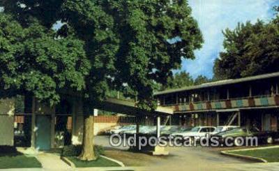 MTL001674 - Howard Johnson Motor Lodge, Springfield, IL, USA Motel Hotel Postcard Post Card Old Vintage Antique