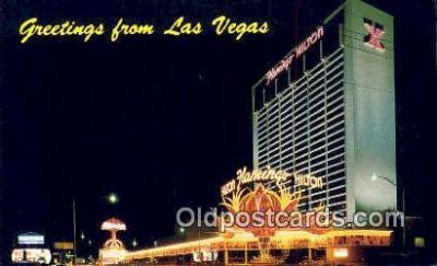 MTL001693 - Flamingo Hilton, Las Vegas, NV, USA Motel Hotel Postcard Post Card Old Vintage Antique