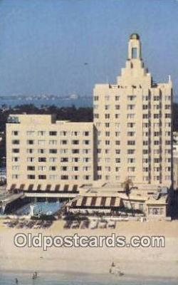 MTL001754 - Versailles, Miami Beach, FL, USA Motel Hotel Postcard Post Card Old Vintage Antique