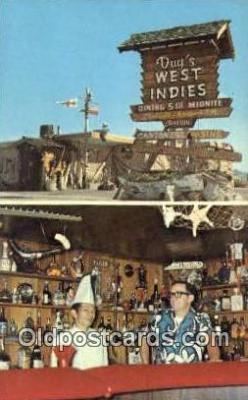 MTL001769 - Dug's West Indies, Carson City, NV, USA Motel Hotel Postcard Post Card Old Vintage Antique