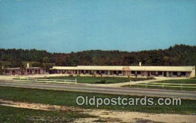 MTL001804 - El Patio Motel, Spencer, IN, USA Motel Hotel Postcard Post Card Old Vintage Antique