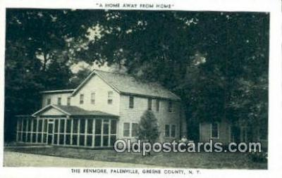 MTL001826 - The Kenmore, Greene Co, NY, USA Motel Hotel Postcard Post Card Old Vintage Antique
