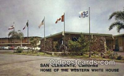 MTL001828 - San Clemente Inn, San Clemete, CA, USA Motel Hotel Postcard Post Card Old Vintage Antique