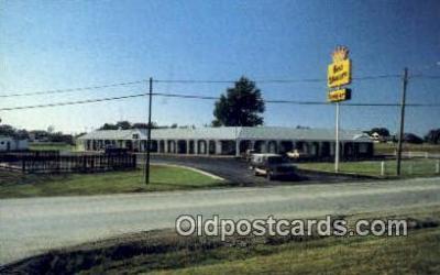 MTL001842 - Best Western Rambler, Cameron, MO, USA Motel Hotel Postcard Post Card Old Vintage Antique