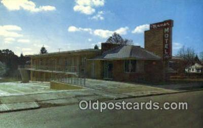 MTL001849 - Manor Motel, Cleveland, OH, USA Motel Hotel Postcard Post Card Old Vintage Antique