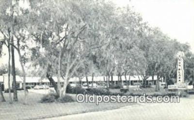 MTL001853 - Sun Plaza Motor Manor, Ocala, FL, USA Motel Hotel Postcard Post Card Old Vintage Antique