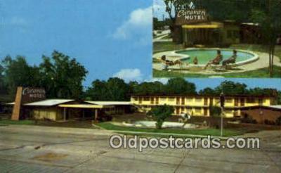 MTL001869 - Caravan Motel, St. Augustine, FL, USA Motel Hotel Postcard Post Card Old Vintage Antique