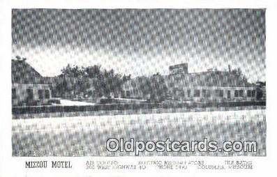 MTL001872 - Mizzou Motel, Columbia, MO, USA Motel Hotel Postcard Post Card Old Vintage Antique