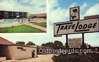 MTL001879 - Travelodge Monterey Fairgrounds, Monterey, CA, USA Motel Hotel Postcard Post Card Old Vintage Antique