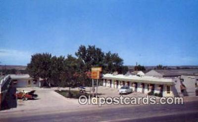 MTL001884 - Yellowstone Auto Court, Casper, WY, USA Motel Hotel Postcard Post Card Old Vintage Antique