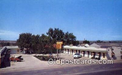MTL001888 - Yellowstone Auto Court, Casper, WY, USA Motel Hotel Postcard Post Card Old Vintage Antique