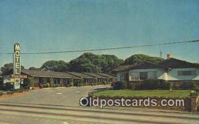 MTL001918 - Francciscan Motel, Monterey, CA, USA Motel Hotel Postcard Post Card Old Vintage Antique