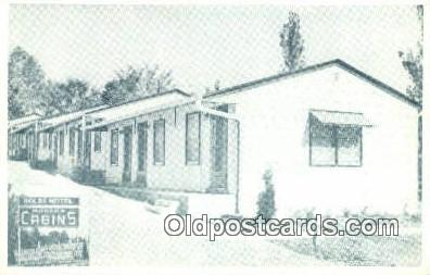 MTL001921 - Kilb's motel, Jefferson City, MO, USA Motel Hotel Postcard Post Card Old Vintage Antique