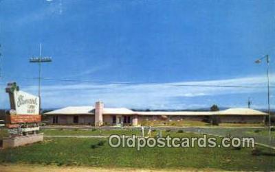 MTL001923 - Shamrock Motor Lodge, Bristol, VA, USA Motel Hotel Postcard Post Card Old Vintage Antique
