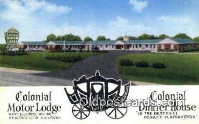 Colonial Motor Lodge, Springfield, MO, USA