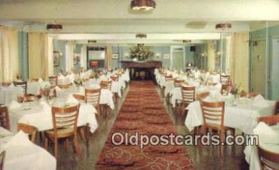 MTL011034 - American Hotel, Freehold, New Jersey, NJ USA Hotel Postcard Motel Post Card Old Vintage Antique