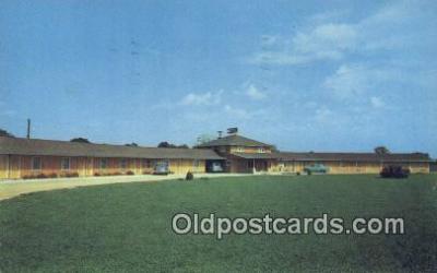 MTL011058 - The Elmortel, Farmers City, Illinois, IL USA Hotel Postcard Motel Post Card Old Vintage Antique