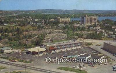 MTL011077 - Mandarin Motor Hotel, Ontario, Canada Hotel Postcard Motel Post Card Old Vintage Antique
