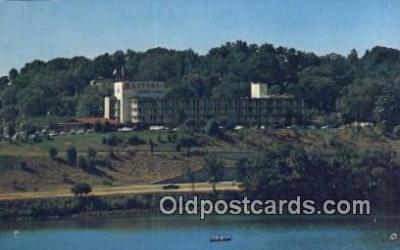 MTL011122 - Marriott Motor Hotel, Washington DC, USA Hotel Postcard Motel Post Card Old Vintage Antique